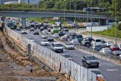深圳地铁三期施工影响50余条路通行