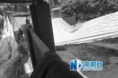 深圳闹市路面疑因地铁施工塌陷 地铁方否认
