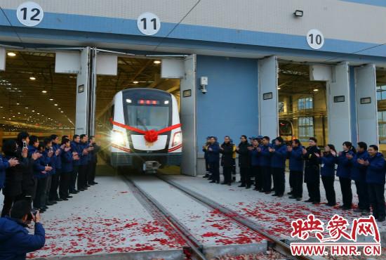 地铁 郑州/2013年12月28日郑州地铁第一班车发车