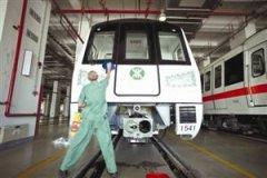 深圳地铁一号线准备换新车