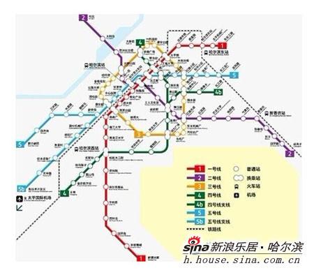哈尔滨地铁3号线沿线楼盘