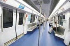 深圳地铁5号线劲元科技车载动态地图案例