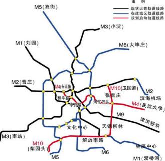 2015年天津地铁大变化 这回过你家门口吗?