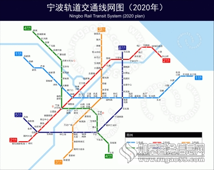 宁波地铁规划图 宁波轨道交通4号线的站位选址公