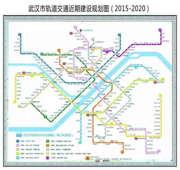 了 最新的武汉13条地铁线完整站点名单图片