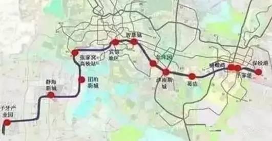 划 11条线 天津地铁线路规划都在图片
