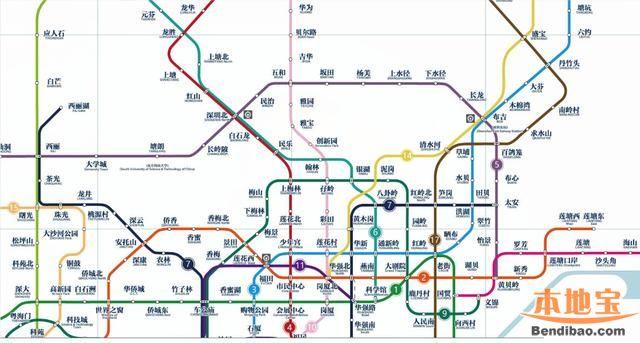 深圳地铁14号线站点 线路延长到惠州南站图片
