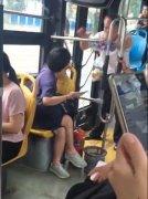 福州女子公交未让座被老人骂身体不适该不