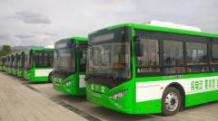 内蒙古阿拉善盟:30辆银隆纯电动公交绿遍全城