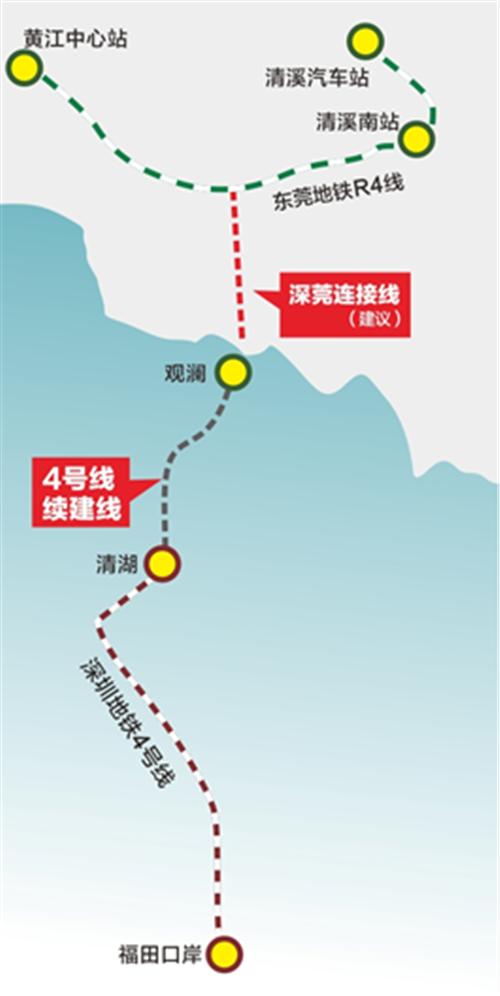 从地铁规划来看,樟木头距离深圳的直线距离约43km