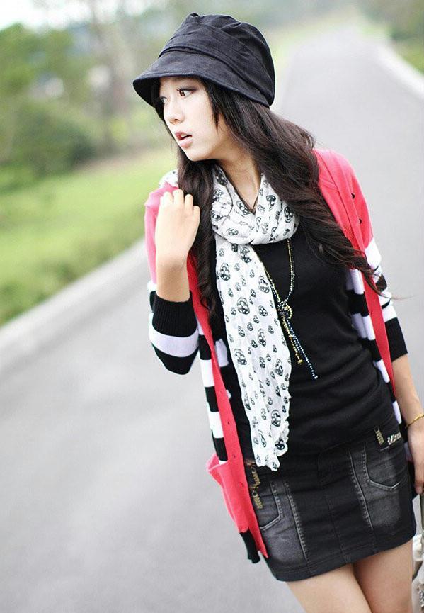 提包包漂亮美人显时尚