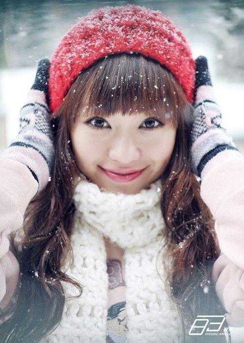 一月雪天·心情-Eileen