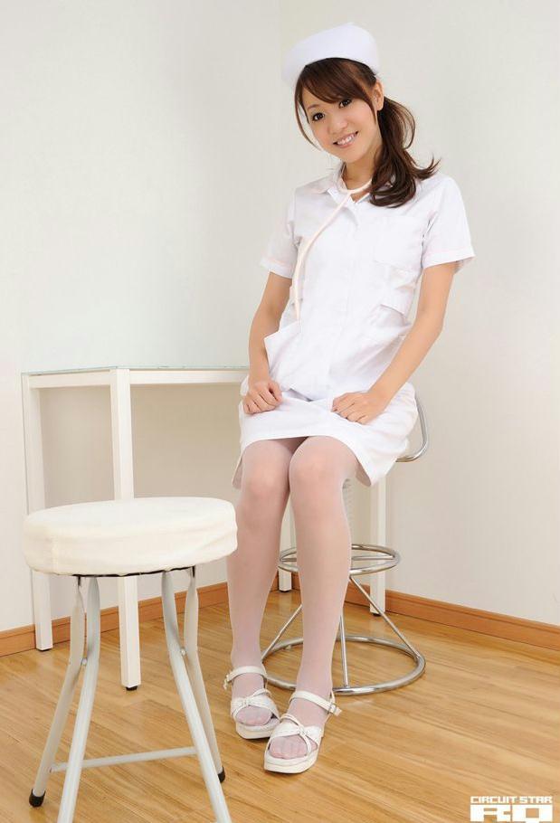 清纯妹妹植田早纪护士制服装