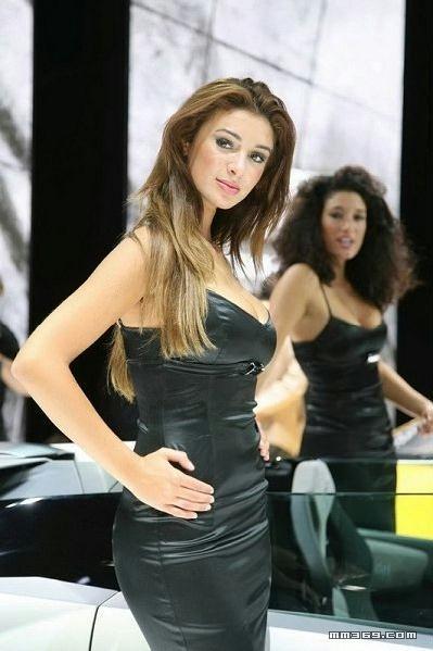 法兰克福车展美女模特