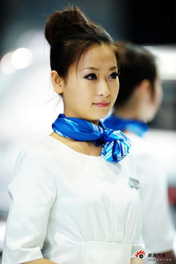 2010北京车展性感车模集
