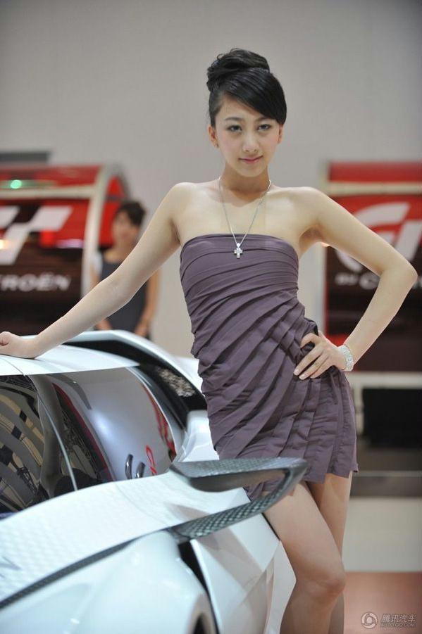 2010上海车展模特第一波