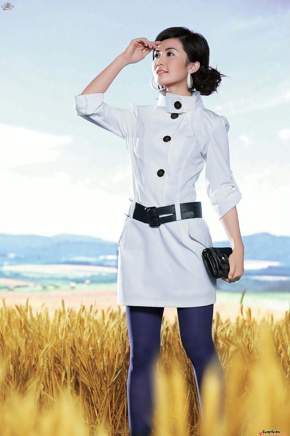 家喻户晓明星玉女蔡卓妍