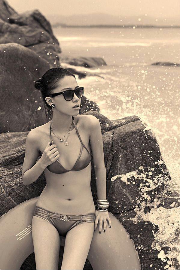 美空美丽模特儿杨丽Lacee
