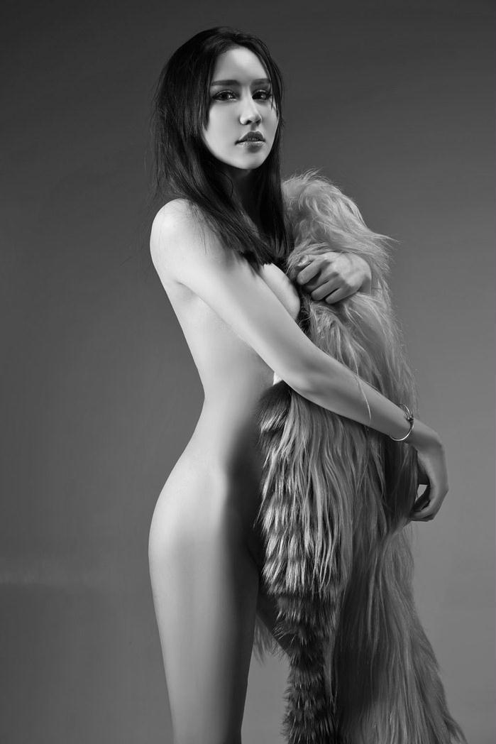 嗲囡囡刘莉莉纹身人体艺术摄影