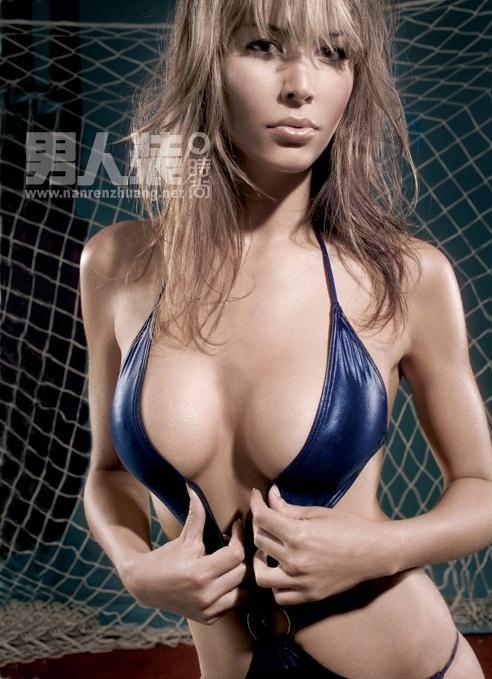 超性感足球宝贝 《男人装》6月刊