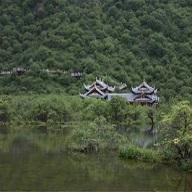 黄龙国家地质公园
