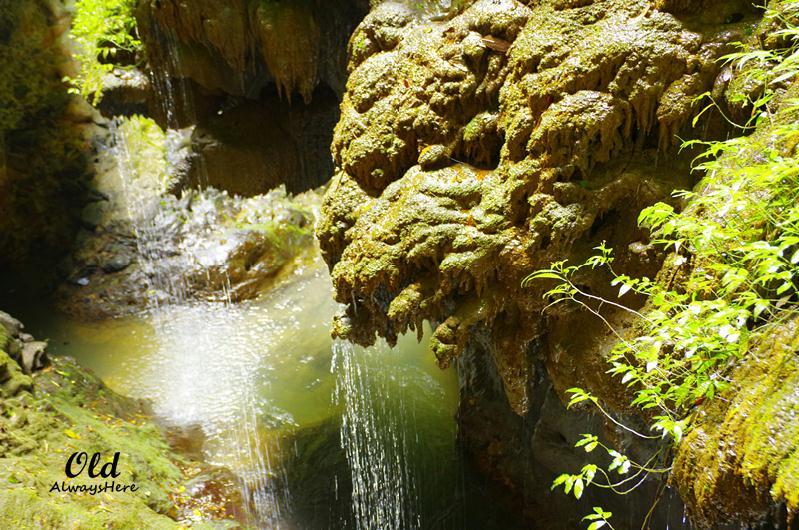 武隆龙水峡地缝