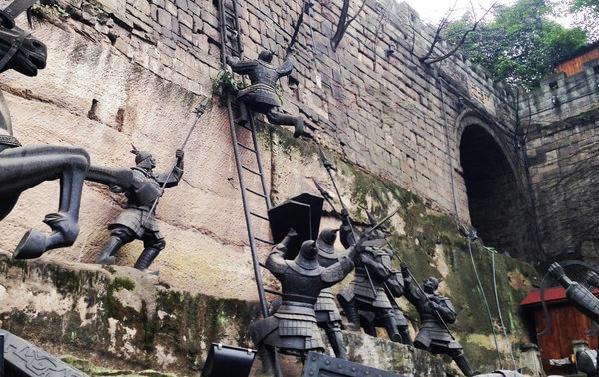 通远门城墙遗址公园