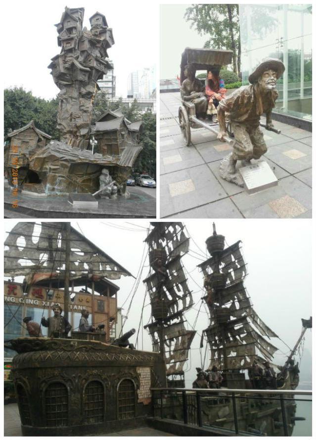 """【重庆印象】""""桥都""""山城的廊桥――菜园坝长江大桥"""