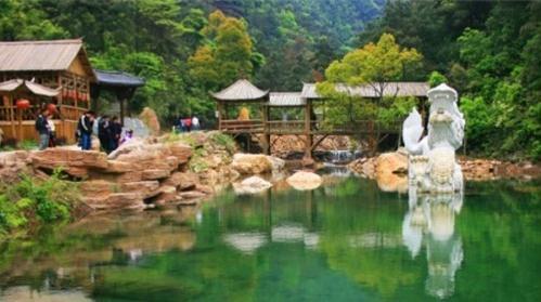 杭州白龙潭景区