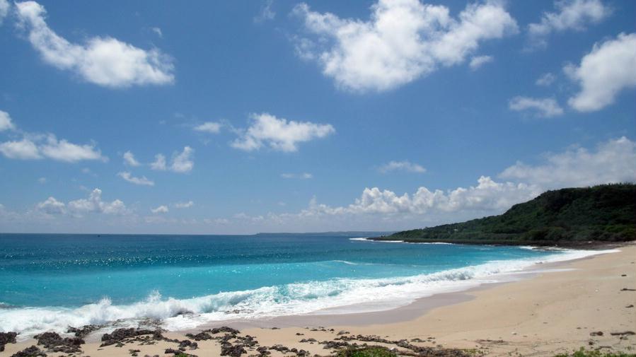 砂岛海滩/贝壳砂海滩