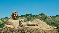 黄河母亲雕像