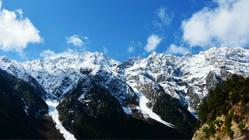 松多巴热雪山(盔甲山)
