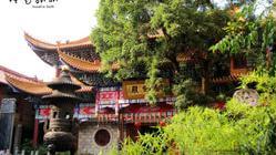 车拍江西国家历史文明名城南昌街景