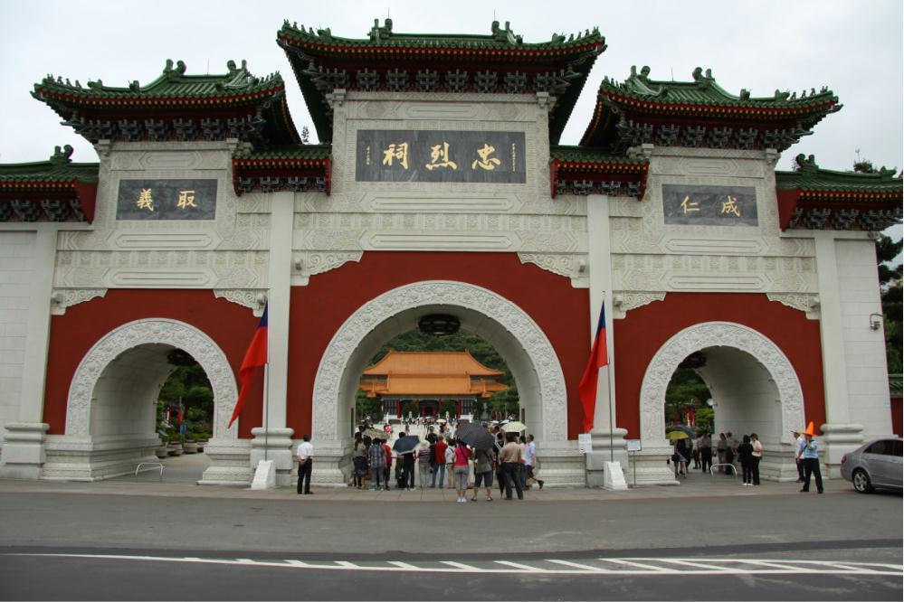 女儿带我们游台湾(四十一) 台北--龙山寺