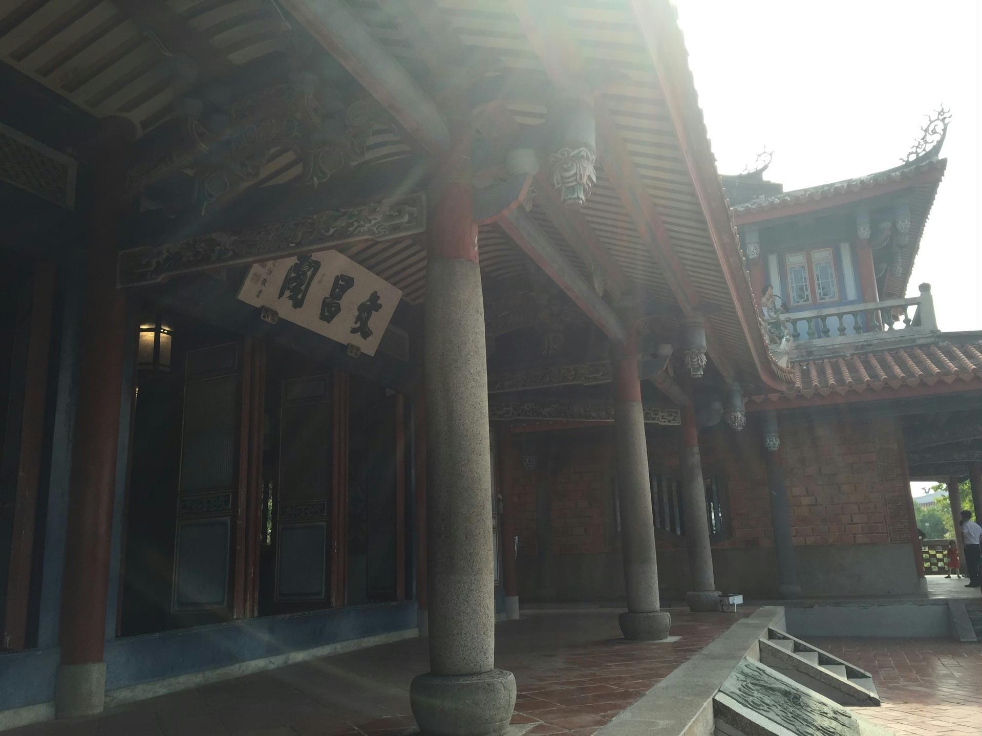 女儿带我们游台湾(三十二) 台南--安平树屋