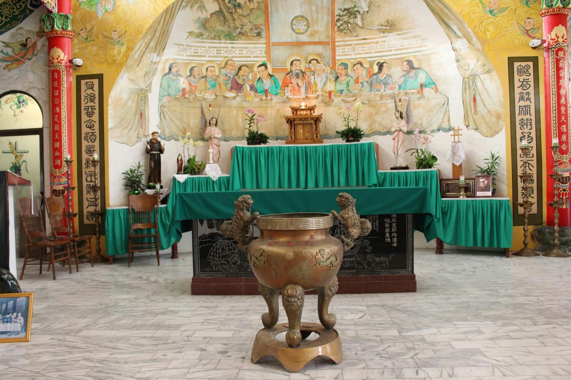 盐水天主堂
