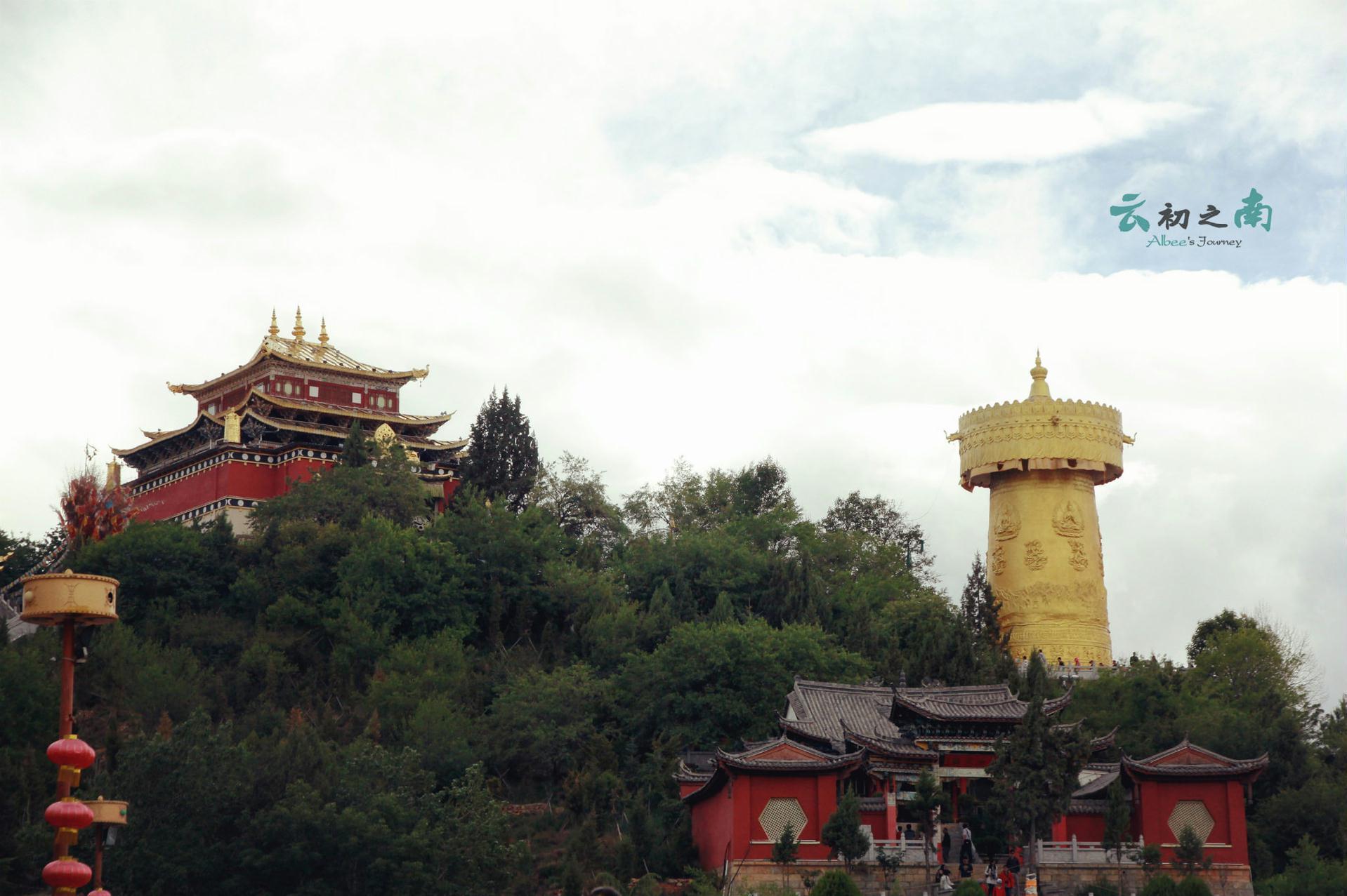 香格里拉旅行日记--圣洁的藏村