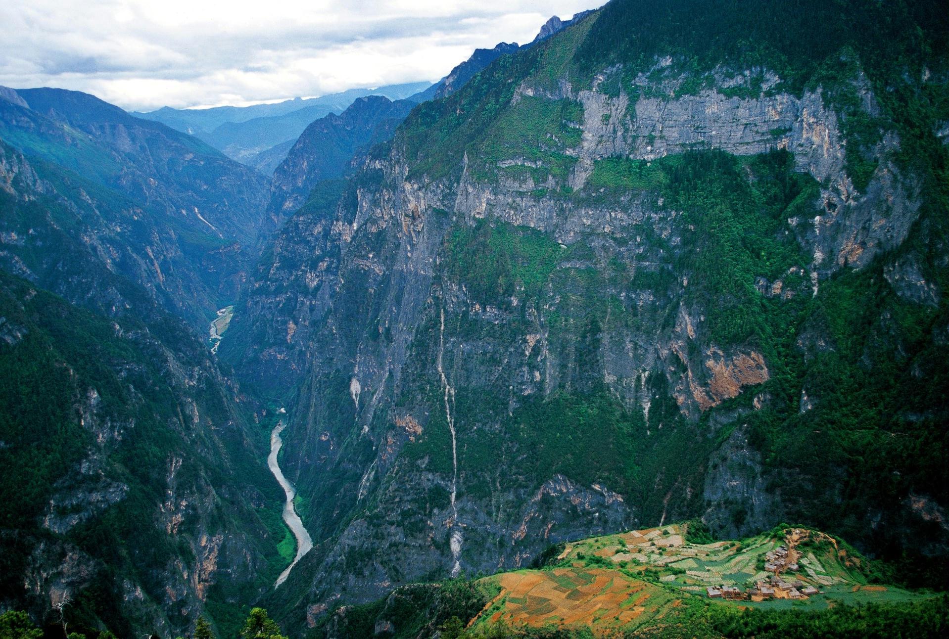巴拉格宗香格里拉大峡谷国家公园