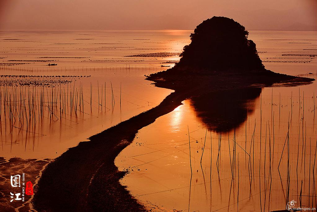《霞浦摄游记》---金色的小皓港湾