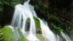 螺髻·九十九里温泉瀑布