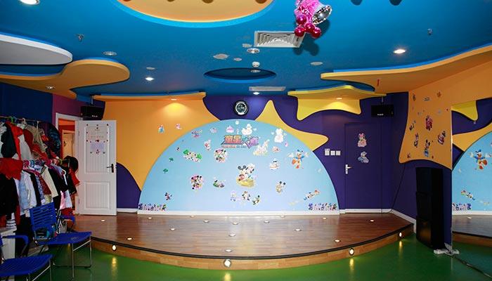 儿童舞蹈教室效果图